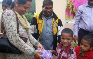 Nutrition Support for Children Living with HIV infection Conducted by Lotus Care Centre